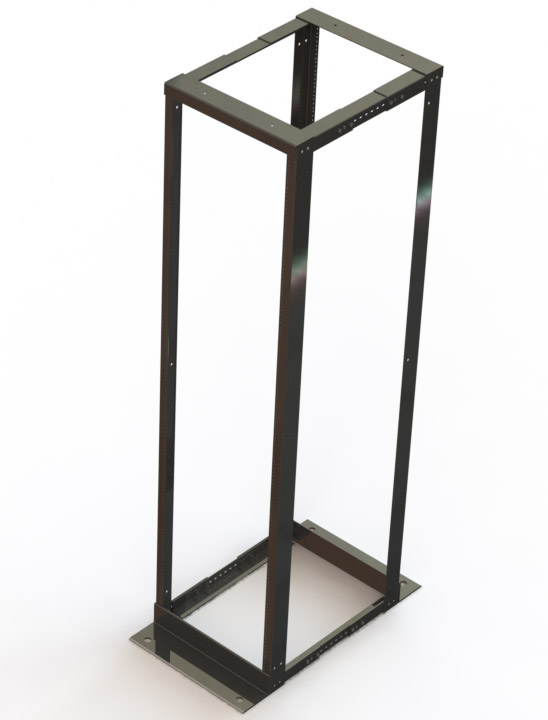 Open 4 Post Rack – Adjustable Depth