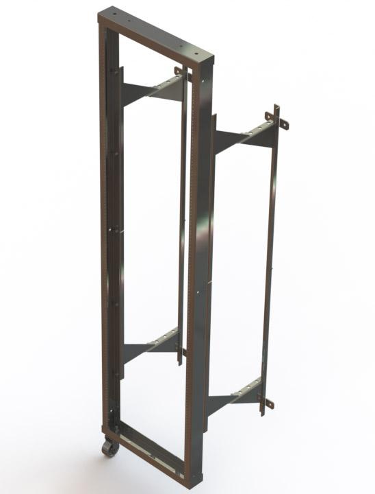 Wall Mount Swing-out Relay Racks - Standard
